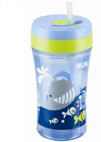 NUK Nuk Kubek Ze Słomką Easy Learning Fun 300Ml, +18 M-Cy