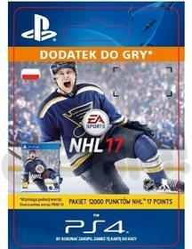 Sony NHL 17 12000 Punktów [kod aktywacyjny] Dostęp po opłaceniu zakupu