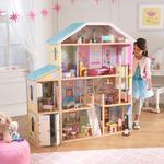 KidKraft Kidkraft - Bardzo Duży Domek Dla Lalek Barbie Majestic Mansion - 65252