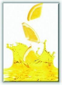Pomarańczowy Sok - Obraz na płótnie