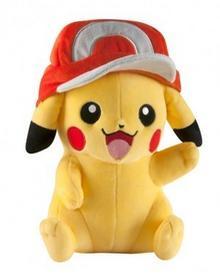 Tomy TOMY Pokemon Ash Hat Pikachu Pluszak T18763D41