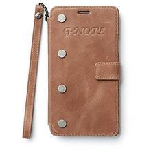 Zenus ZA400465 G-Diary w stylu vintage brązowy do Samsung Galaxy Note 4 GT-N7000