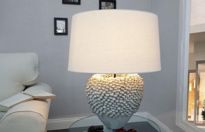 Emma 10959300 Lampa stołowa White ceramika 55cm 59300-uniw