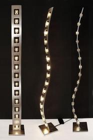 Hollander Holländer Holländer CUBO lampa stojąca Srebrny, 15-punktowe 300 K 11106 S