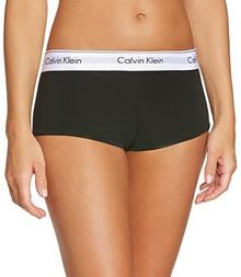 Calvin Klein Majtki underwear MODERN COTTON - SHORT dla kobiet, kolor: czarny, rozmiar: 38 (rozmiar producenta: M)