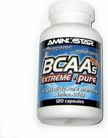 Aminostar BCAA-extreme pure 120 kaps