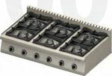 Stalgast Kuchnia nastawna gazowa 970723 6-palników (3,5+2x5+2x7+9)