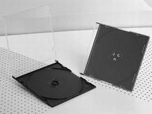 Gembird Pudełko CD 1 slim czarne (200szt) 521S.02B(200-PACK)