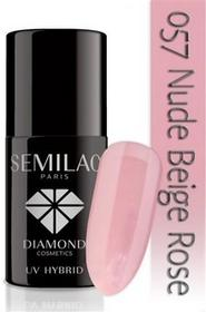 Semilac lakier hybrydowy 057 Nude Beige Rose