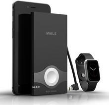iWalk Powerbank Watchman 10000mAh do iPhone oraz Apple Watch czarny SBW001BLACK