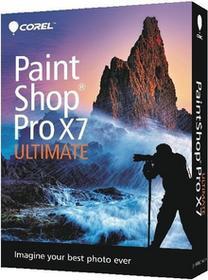 Corel PaintShop Pro X7 Ultimate ENG - Nowa licencja