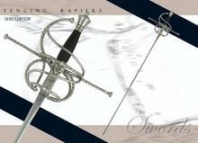 Swords SH1032B Fencing Rapier - Schlaeger Blade