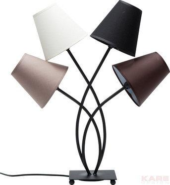 Kare Design Lampa Flexible Mocca Quattro by 36191