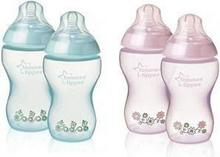 Tommee Tippee Butelka 2x260ml DEKOROWANA BB 42252171 Closer to Nature 17334