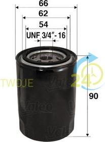 VALEO Filtr oleju 586049