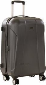 Travelite walizka podróżna duża XL 136L z poliwęglanu Elbe Two - antracyt 71759-04