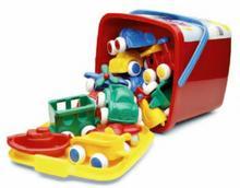 Viking Toys Wiaderko Bucket z Pojazdami 41140