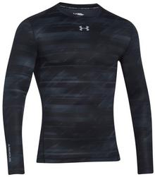 Under Armour T-shirt Coldgear Printed CoMpression Crew (1265654-001)
