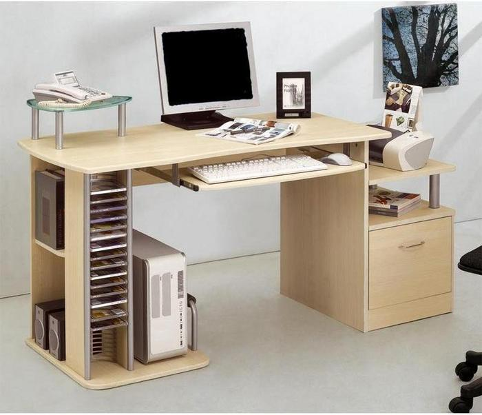 Adastyl biurko pod komputer klon s 202a 87 10000087 ceny for Computer schreibtisch gunstig