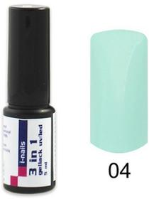 I-nails special 04 Żel Lakier HYBRYDOWY 3in1 (3w1 one step) UV/LED 5ml