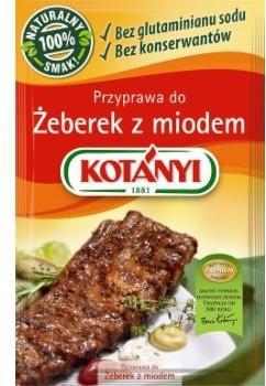 Kotanyi PRZYPRAWA DO ŻEBEREK Z MIODEM POLONIA SP Z O.O 30 G 58157462