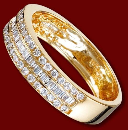 złoto pierścionek, brylanty, zaręczynowy, obrączka, 3.52g