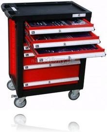 Airpress wózek narzędziowy 7 szuflad 216 narzędzi 79156
