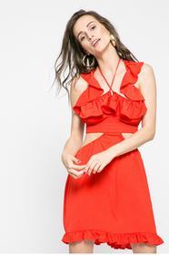Missguided Sukienka WXDE914755 czerwony