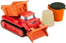 Fisher Price Pojazdy budowlane + piasek kinetyczny spychacz) DGY43 DMM53