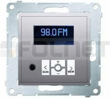 Kontakt Simon Radio cyfrowe z Wyświetlaczem (moduł) - Simon 54 Premium D75252.