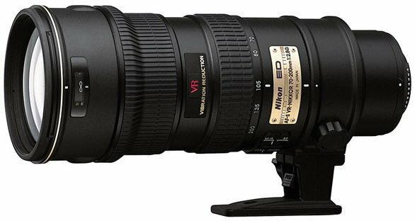 Nikon AF-S 70-200mm f/2.8 G IF-ED VR