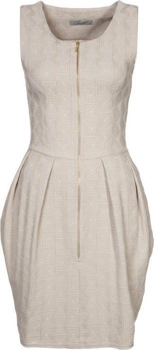 Closet Sukienka etui beżowy CL921C01B-707