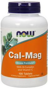 Now Foods Cal-Mag Stress Formula 100 szt.