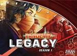 Z-Man Games Pandemic: Legacy - Season 1 (Red Version) - En