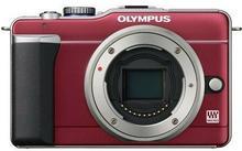 Olympus PEN E-PL1 body czerwony
