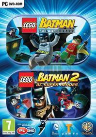LEGO BATMAN: THE VIDEOGAME + LEGO BATMAN 2: SUPER HEROES PC