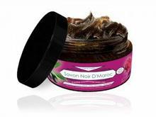 Savon Noir Czarne Mydło w kostce z olejem z róży damasceńskiej 300ml CosmoSPA
