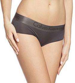Calvin Klein Bokserki underwear DUAL TONE - HIPSTER dla kobiet, kolor: czarny, rozmiar: 38 (rozmiar producenta: M)