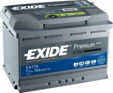 Exide Premium 47Ah 450A EA472 P+