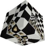 Verdes Kostka V-Cube 3 Chessboard Illusion (3x3x3)