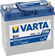 Varta Blue Dynamic B33 45 Ah 330 A)