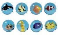Goki Piłka kauczukowa zwierzęta morskie