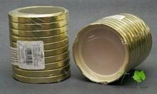 Biowin ZAKRĘTKA DO SŁOIKÓW fi 82 6z złota 10 szt.