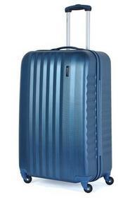 March Duża walizka 0044-34-71 niebieska RIBBON - niebieski