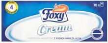 Foxy Chusteczki higieniczne z kremem 10op.