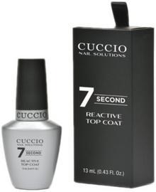 Cuccio REACTIVE TOP COAT 7 SECONDS Top nabłyszczający 7 sekund (13 ml)