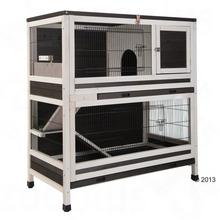 Zooplus Lounge Klatka Dla Małych Zwierząt Szary/Biały 1075 X 58 X 118 Cm