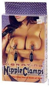 California Exotic novelties Nipple Clamps Vibrating