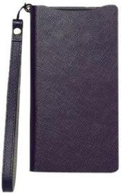 Zenus Prestige Minimal Diary Case Lila für Sony Xperia Z2