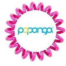 Papanga Elastyczna gumka do włosów mała) głęboki róż